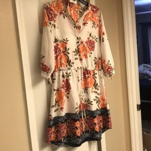 Floral dress- new with tags